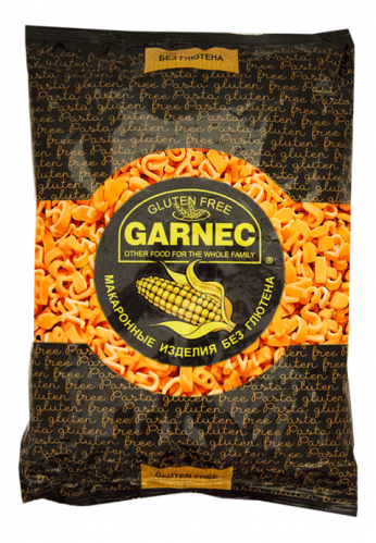 Алфавит Кукурузные макароны без глютена 300г*8 GARNEC